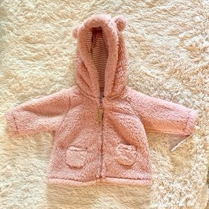CARTERS 3M fuzzy jacket